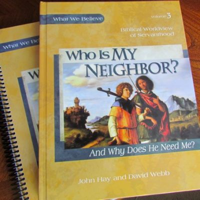 The Saturday Morning Review–Who Is My Neighbor?