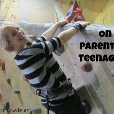 On Parenting Teenagers